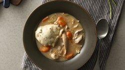 Slow-Cooker Creamy Chicken and Herbed Dumplings