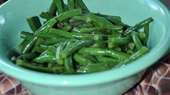 Gingered Green Beans