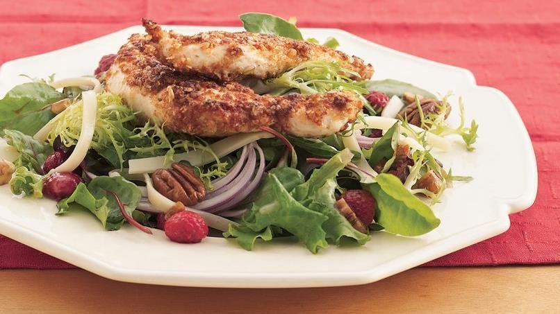 Nutty Chicken Dinner Salad