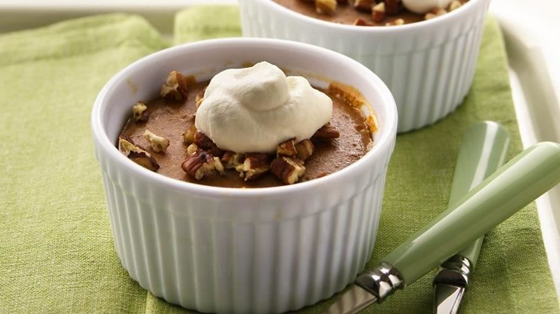 Sweet Potato Pudding Cups