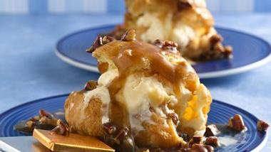 Praline Cream Puffs
