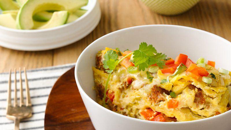 Slow-Cooker Mexican Breakfast Casserole