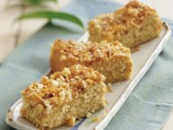 Toffee Macadamia Nut Coffee Cake