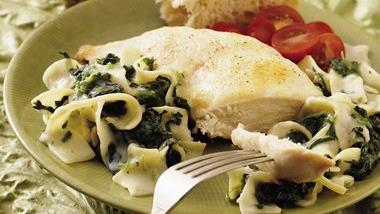 Chicken Breasts Florentine