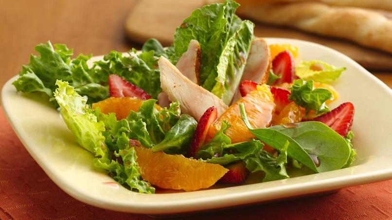 Strawberry-Orange Chicken Salad