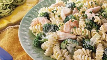 Creamy Shrimp and Broccoli Rotini