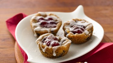 Chocolate Chip-Almond-Cherry Cups