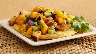 Carnitas Caliente with Stone-Fruit Salsa