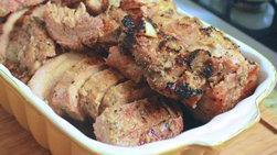 Lomo de Cerdo con Ajo y Pimienta