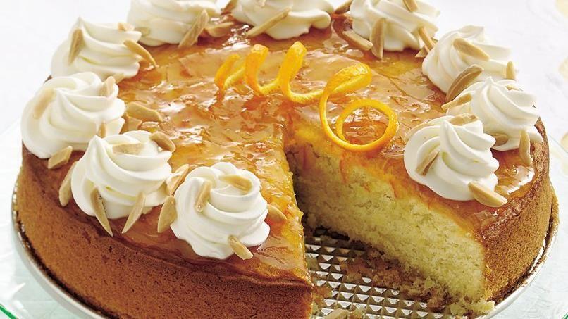 Almond-Orange Cake
