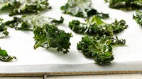 Gluten-Free Sweet Kale Chips with Honey
