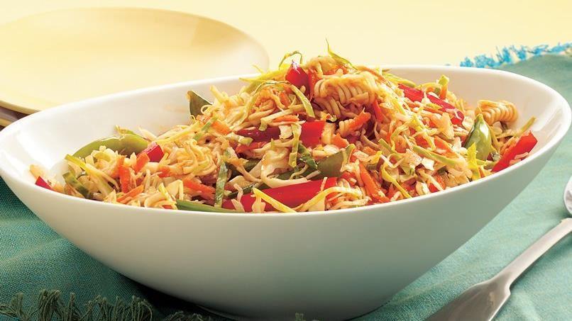 Asian Ramen Noodle Coleslaw