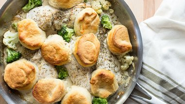 Creamy Chicken-Broccoli Skillet