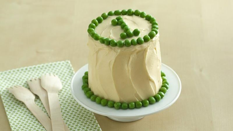 Peas & Carrots Smash Cake