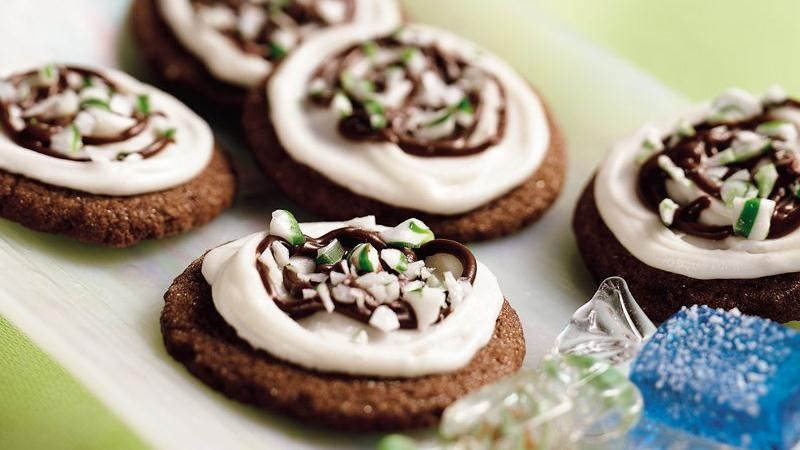 Chocolat-Mint Cookies