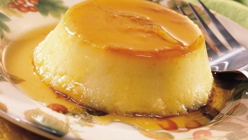 Apple Crème Caramel