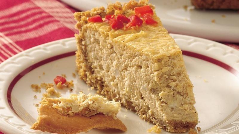 Cajun Crab Cheesecake