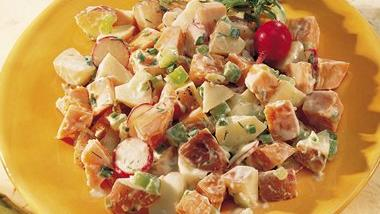 Two-Potato Salad with Dill Dressing