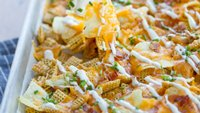 Loaded Baked Potato Cereal Nachos
