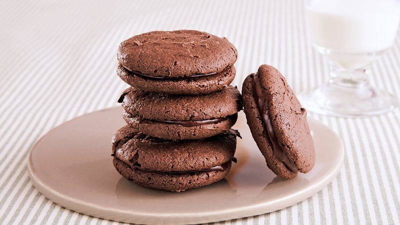 Chocolate Stout Sandwich Cookies