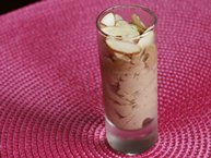 Chocolate-Almond-Whip Dessert Shooters