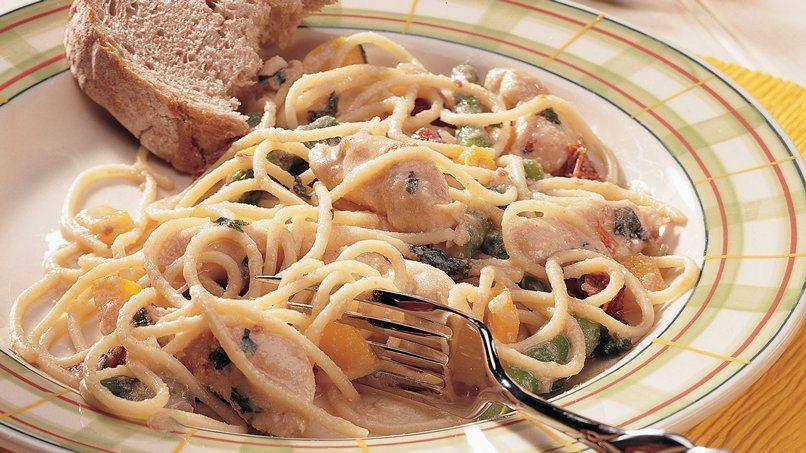 Asparagus Chicken Pasta