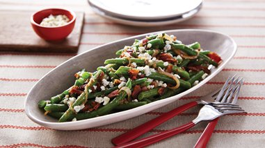 Sautéed Green Beans and Shallots