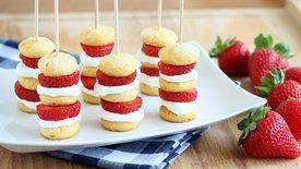 Strawberry Shortcake Kabobs