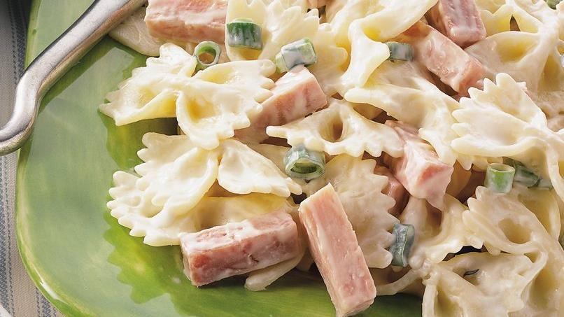 Ham Dijon Pasta