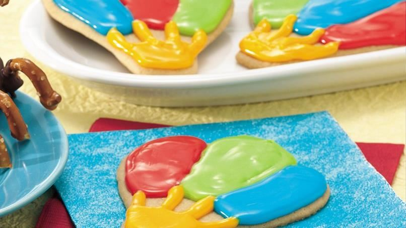 Hot Air Balloon Cookies
