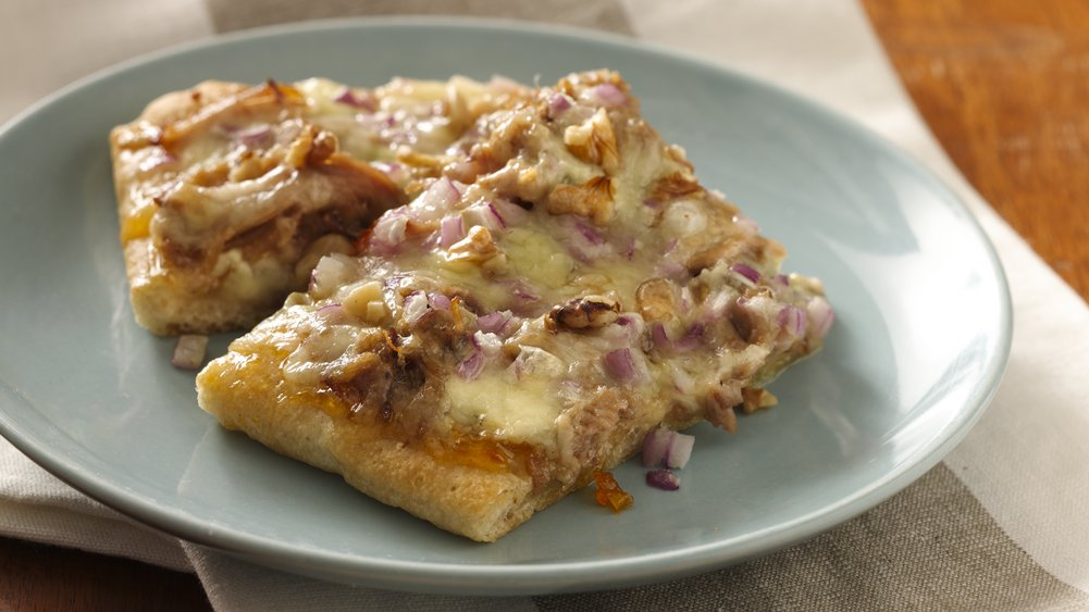 Sweet Pulled Pork Pizza