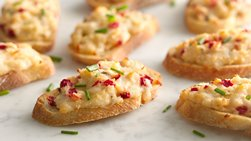 Hot Crab Crostini