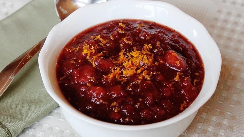 Slow-Cooker Apple Cranberry Sauce