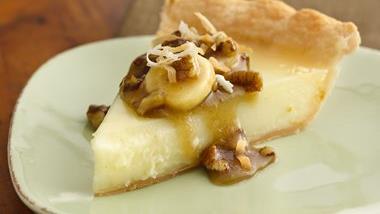 Caribbean Panna Cotta Pie