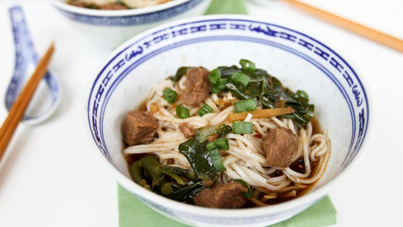 Slow-Cooker Taiwanese Beef Noodle Soup