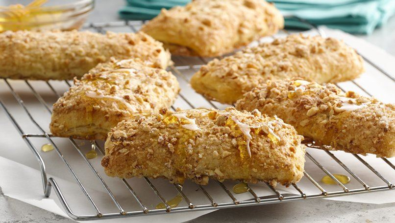 Peanut Butter and Honey Breakfast Pastries