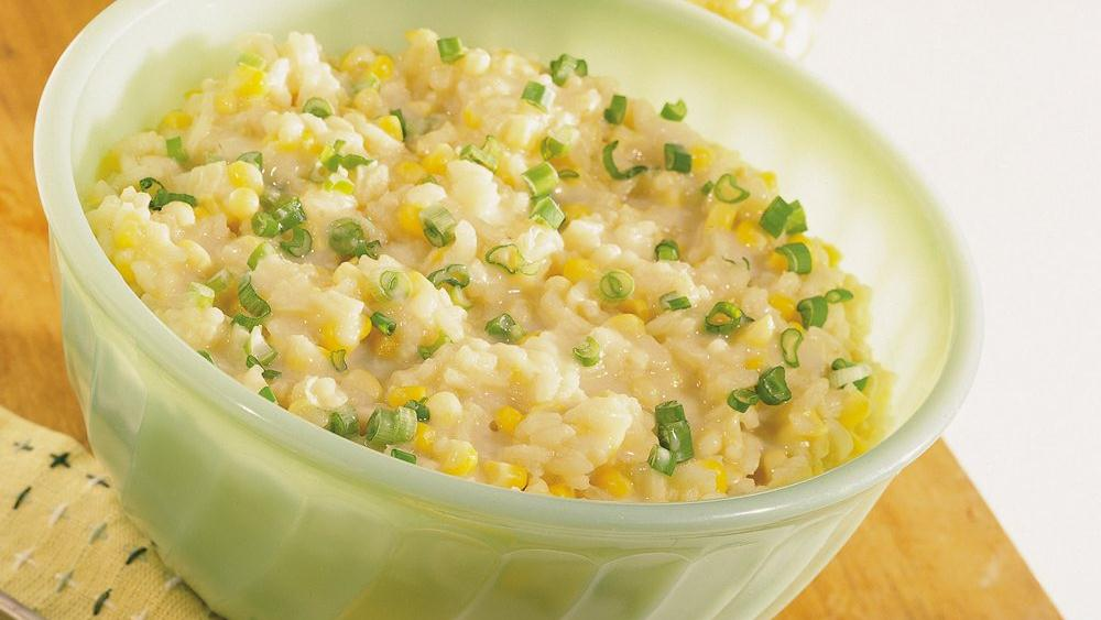Corn Risotto