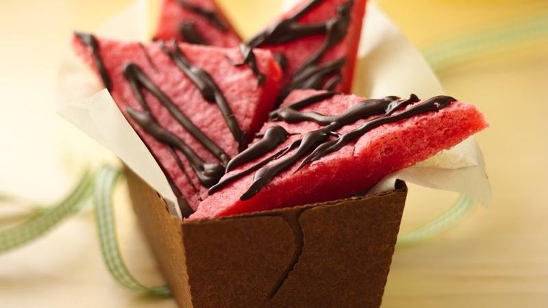 Chocolate-Drizzled Cherry Bars