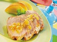 Peach and Jalapeño-Glazed Pork Tenderloins