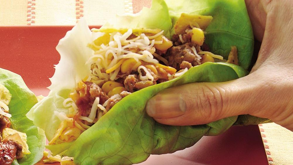 Taco Lettuce Cups