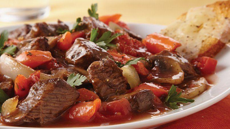 Slow-Cooker Italian-Style Beef Stew