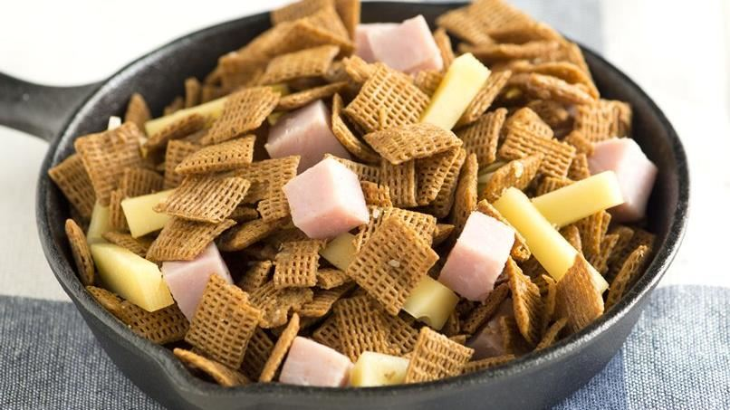 Ham and Cheese Chex Mix