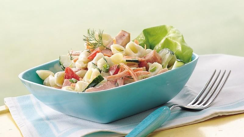 Garden Vegetable and Ham Salad