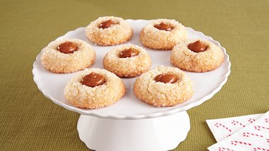 Dulce de Leche Thumbprints