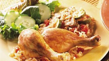 Chicken Drumstick Cacciatore Casserole