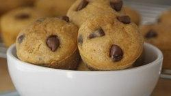Mini Pumpkin Pie Pancake Muffins