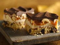 Gluten-Free Peanut Butter Cookie Candy Bars