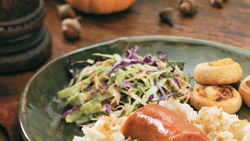 Red and Green Cabbage Slaw