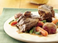 Easy Slow-Cooker Beef Short Rib Supper