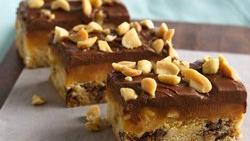 Caramel-Peanut Butter Bars